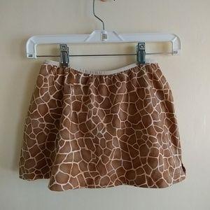 NWT VICTORIA'S SECRET Swim Skirt Animal Print
